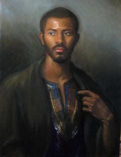 The Reluctant Immigrant, oil, ARC Salon Finalist, Portrait Society  of America