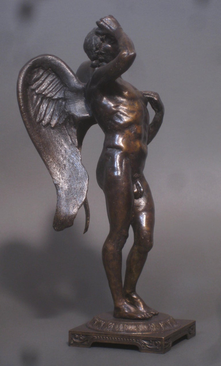 Eros,  Bronze Sculpture, Lost Wax Method , Cesello, Florence, Italy, Antiquity  1