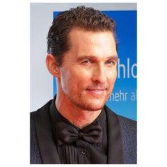Matthew McConaughey Authentic Strand of Hair, 21st Century