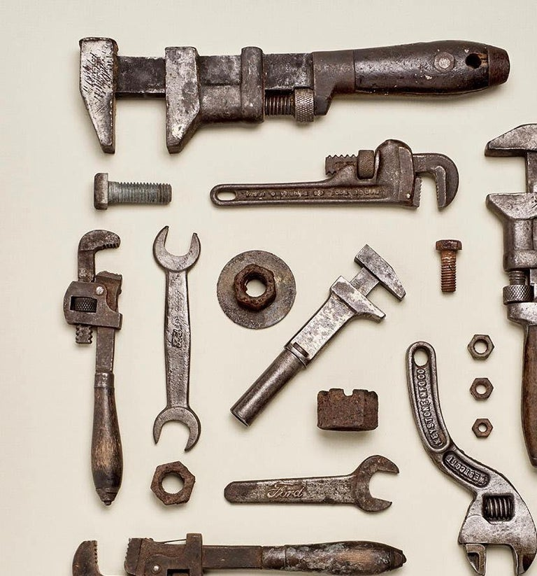Wrenched - old tool photography - Photograph by Matthew McKee