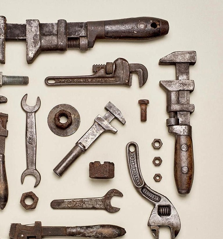 This beautiful old tools photography was done by Matt McKee as part of the old tools series he did from 2016. This print is part of an edition of 30 and come rolled in a tube signed by Matt with a certificate of authenticity.
