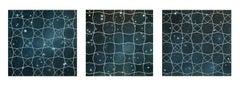 Diamond Net Triptych