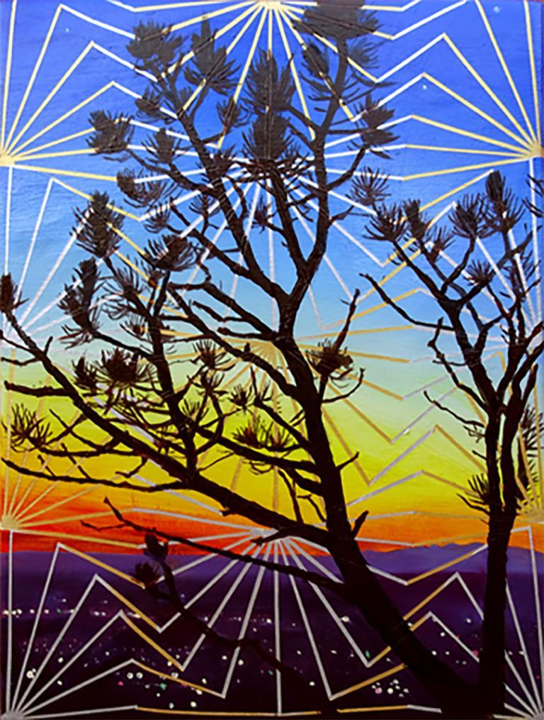 Matthew Mullins Landscape Painting - Hillside