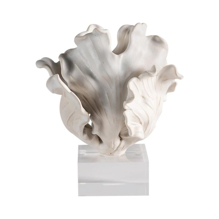 Matthew Solomon, Tulip Sculpture on a Lucite Base, United States, 2019 For Sale