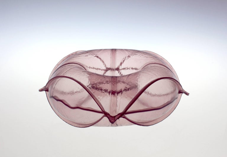 Matthew Szösz, untitled (inflatable) no. 81p, 2018, glass