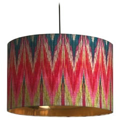 Matthew Williamson for Les-Ottomans Ikat lampshade