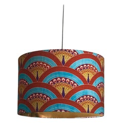 Matthew Williamson for Les-Ottomans Peacock Lampshade