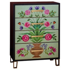Matthew Williamson for Roome London Chest of Drawers Made in England