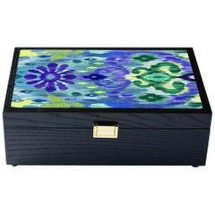 Matthew Williamson for Roome London Fine Upholstered Box Made in England