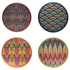 Matthew Williamson X Les-Ottomans Wood Placemats Set of 4