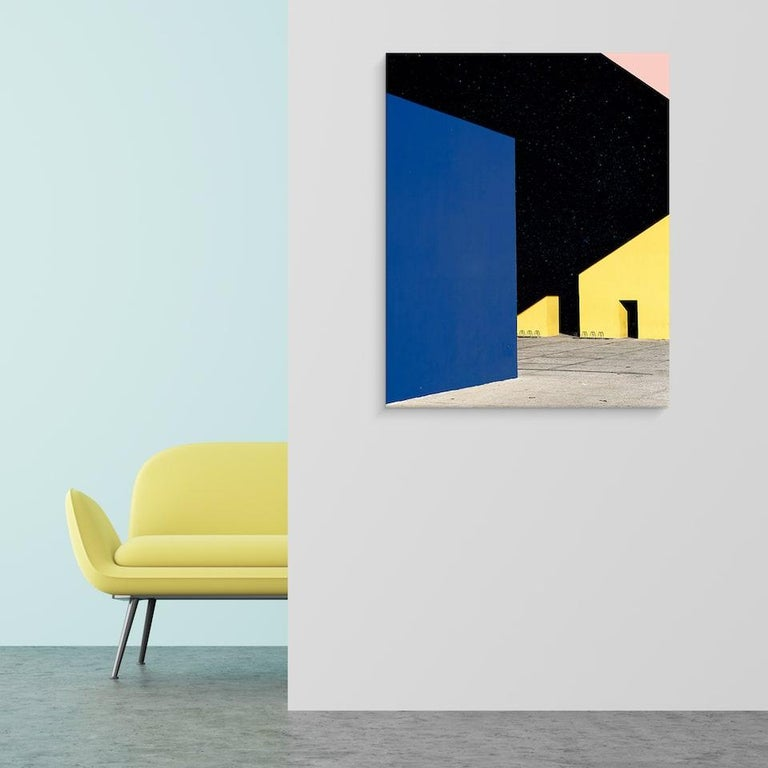 N°3, Illusions series by Matthieu Venot - Close-up Architecture Photography For Sale 1