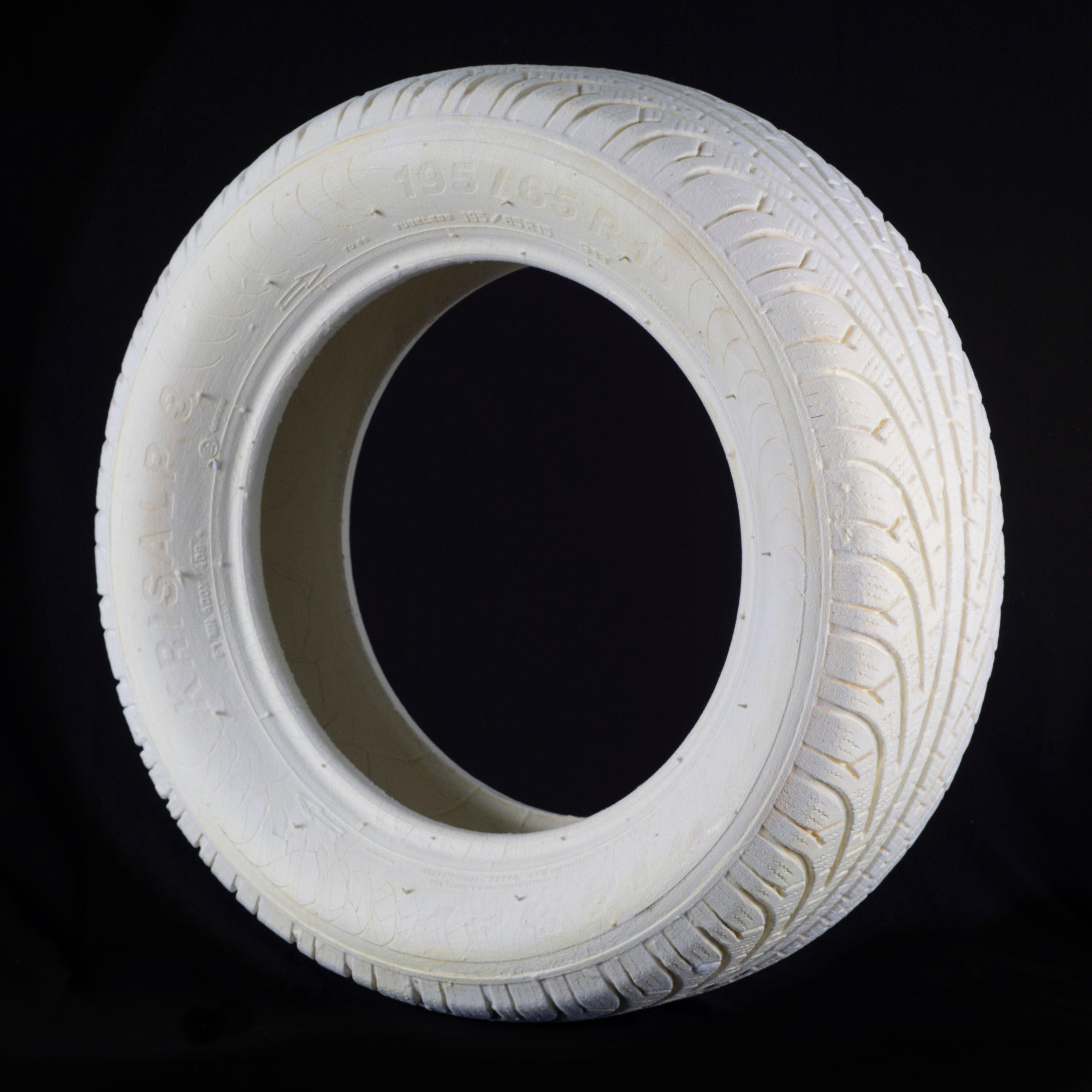 'Spinta Tire' Conceptual Sculpture, Found Object