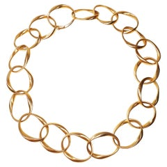 Mattioli Chips Necklace in 18 Karat Rose Gold