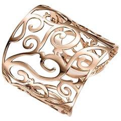 Mattioli Siriana Cuff Bracelet in Rose Gold
