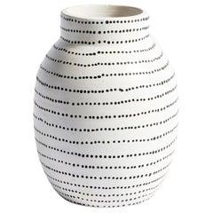 Matty Vase in White Ceramic by CuratedKravet