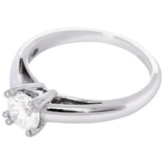 Mauboussin, 18 Karat White Gold, Ring, 0.70 Ct Diamond