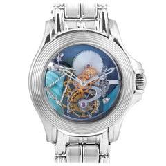 Mauboussin 18 Karat White Gold Tourbillon Watch