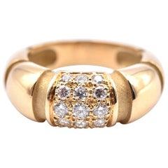 Mauboussin 18 Karat Yellow Gold Diamond Band