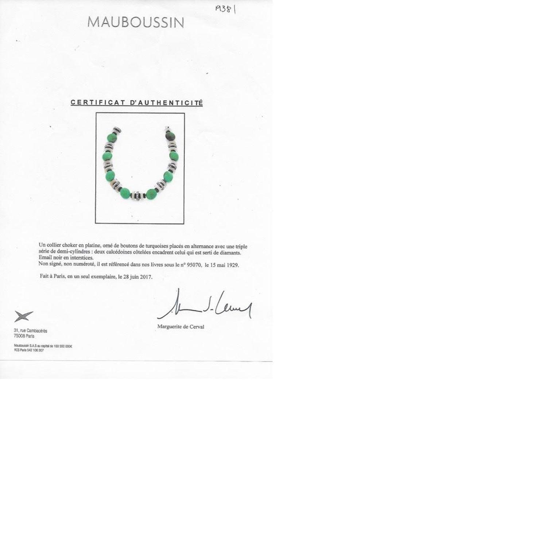 Art Et Decoration Juin 2017 mauboussin art deco turquoise, chalcedony, diamond and rock