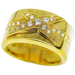 Mauboussin Diamonds 18 Karat Yellow Gold Ring US 4.8