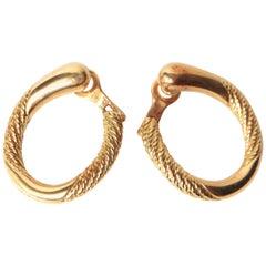 Mauboussin Earrings in 18 Karat Yellow Gold