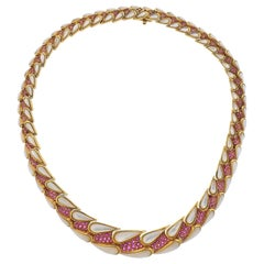 Mauboussin Moonstone Ruby Necklace