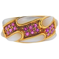 Mauboussin Moonstone Ruby Ring