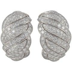 Mauboussin White Gold Diamond Earrings