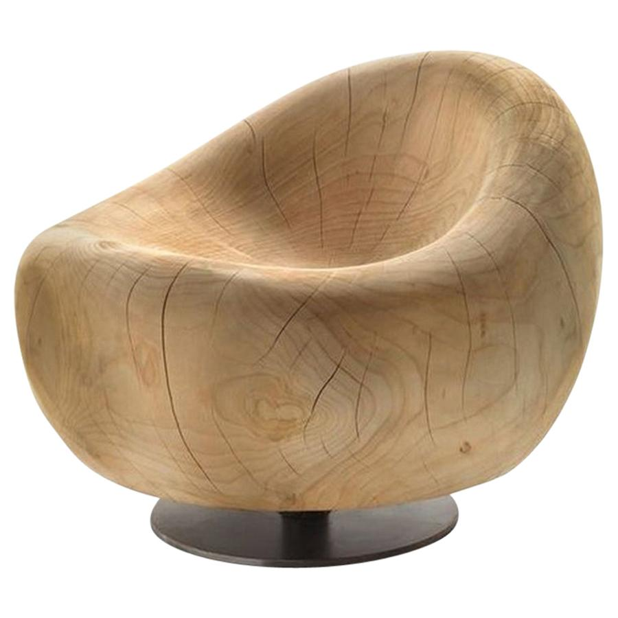Maui, Lounge Cedar Chair, Designed by Terry Dwan, Made in Italy