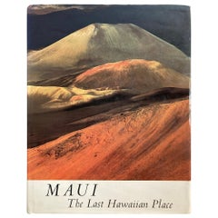 """Maui The Last Hawaiian Place"" Wenkham, Robert Coffee Table Book"