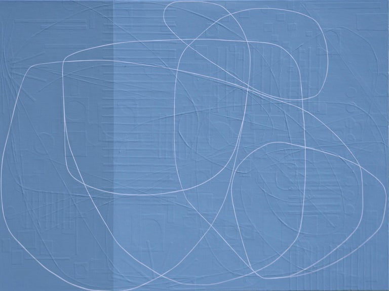 Maura Segal Abstract Painting - Wheelbarrow