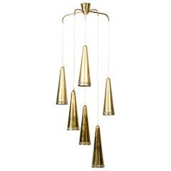 Mauri Almari Ceiling Lamp Produced by Idman in Finland