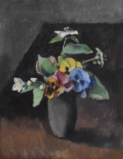 Maurice Asselin (1882-1947) A bunch of flowers in a vase, 1942, oil on canvas