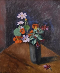 Maurice Asselin (1882-1947) A Bunch of flowers in a vase, Signed oil on canvas