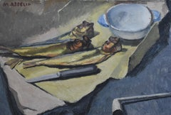 Maurice Asselin (1882-1947) A Still life with herrings, oil on canvas