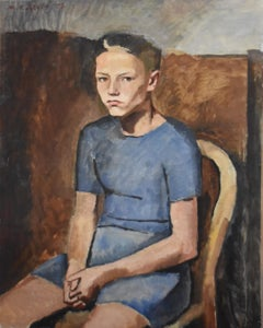 Maurice Asselin (1882-1947) Portrait of his son Jean 1937, oil on canvas