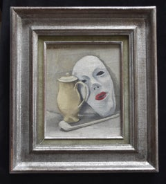 Maurice Asselin (1882-1947) Still-life with a mask, Signed oil on canvas
