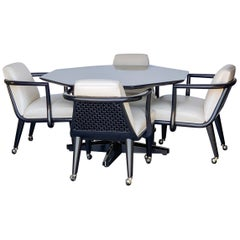 Maurice Bailey for Monteverdi Young Game Table and 4 Chairs