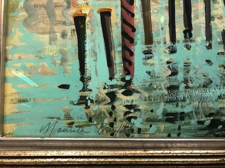 French Maurice Buffet Painting For Sale