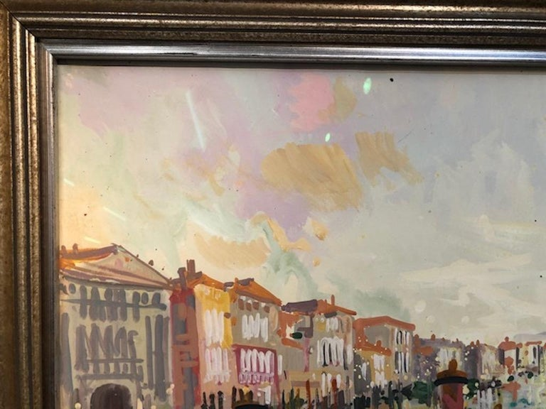 Maurice Buffet Painting In Excellent Condition For Sale In Houston, TX