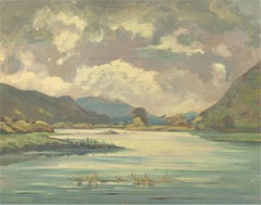 Manner of Maurice Canning Wilks (1910-1984) - 20th Century Oil, The Lake