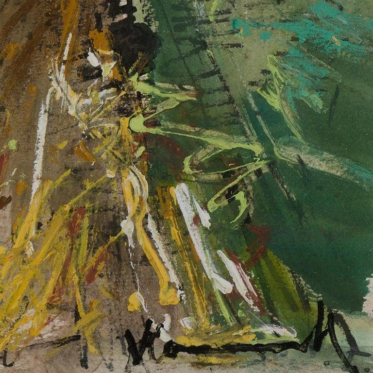Bottes de paille - Post-Impressionist Painting by Maurice de Vlaminck