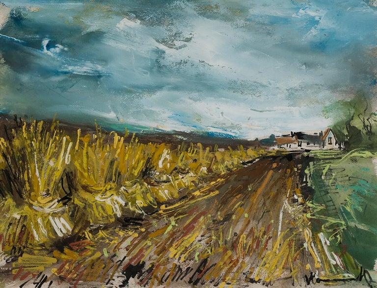 Maurice de Vlaminck Landscape Painting - Bottes de paille