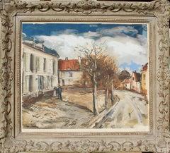 The village, Landscape,