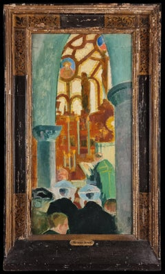 Messe à Perros-Guirec, Maurice Denis 1916