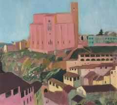 San Domenico de Sienne - Maurice Denis, small, nabis, painting, siena, italy