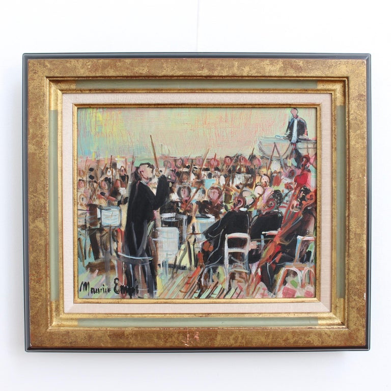 The Orchestra - Painting by Maurice EMPI