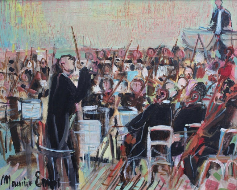 Maurice EMPI Figurative Painting - The Orchestra