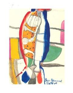 Composition - Original Lithograph after Maurice Estève - 1982