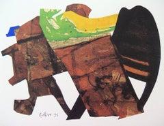 Decoupage IX - Original Screen Print - 1996